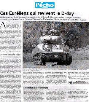 Ces Euréliens qui revivent le D-day