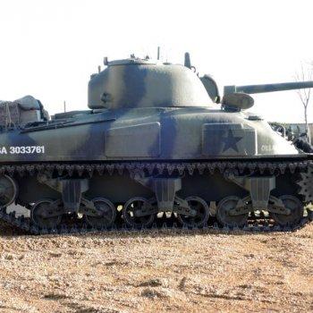 "Sherman M4 A1 ""Grizzli"" Oklahoma"