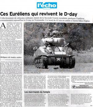 Ces Euréliens qui revivent le D-day